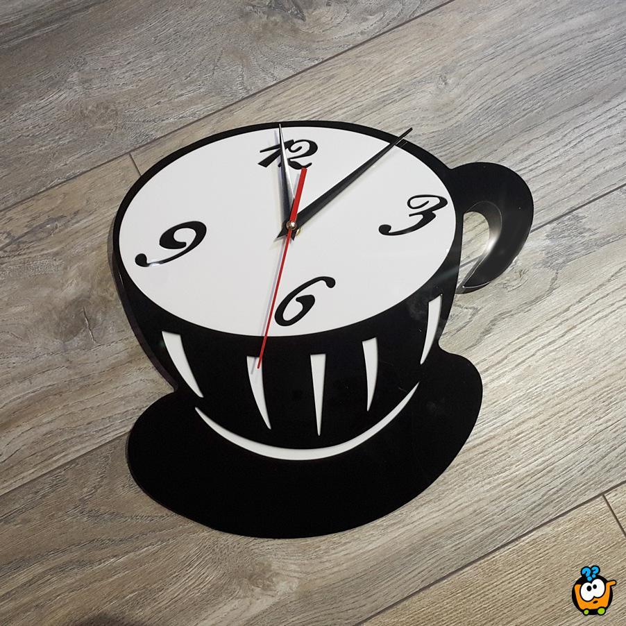 Originalni zidni sat - Creative Coffee Cup