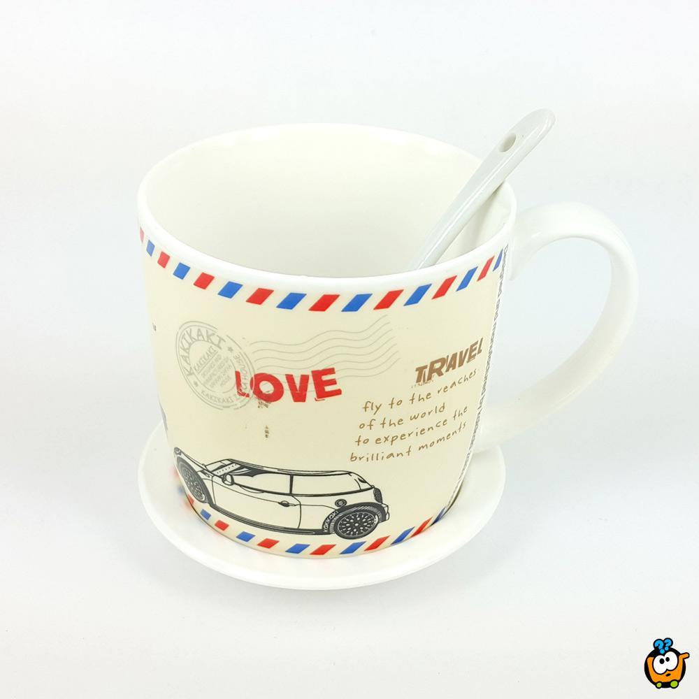 Šolja Love Travel Cup poklon set