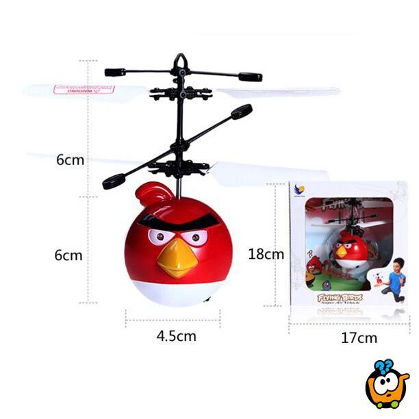Flying Angry Birds - Magičan helikopter sa senzorom za letenje