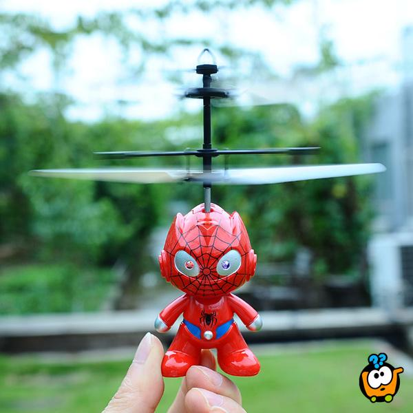 Leteći Spider-Man - Magičan helikopter sa senzorom za letenje