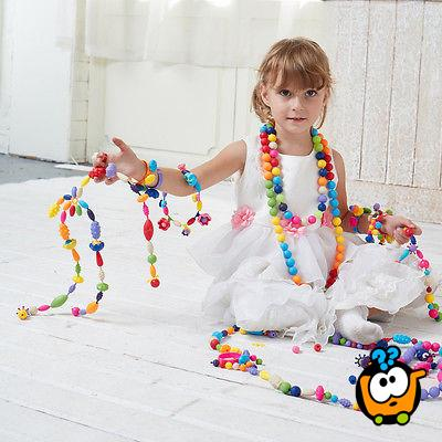 Pop-Arty Beads - Set kreativnih perlica za devojčice