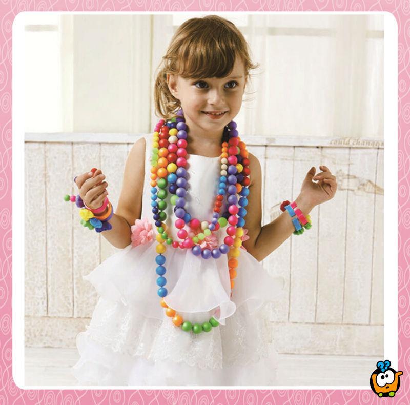 Pop-Arty Beads - Set kreativnih perlica za devojčice