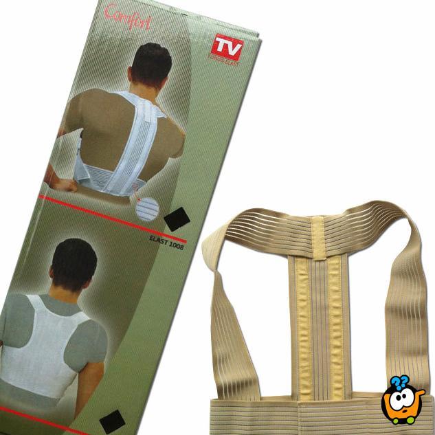 Podrška za pravilno držanje tela i otklanjanje bola u leđima