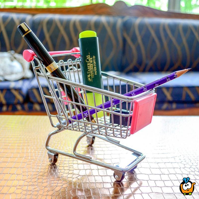 Mini šoping kolica - Kreativni organizer sitnih stvari