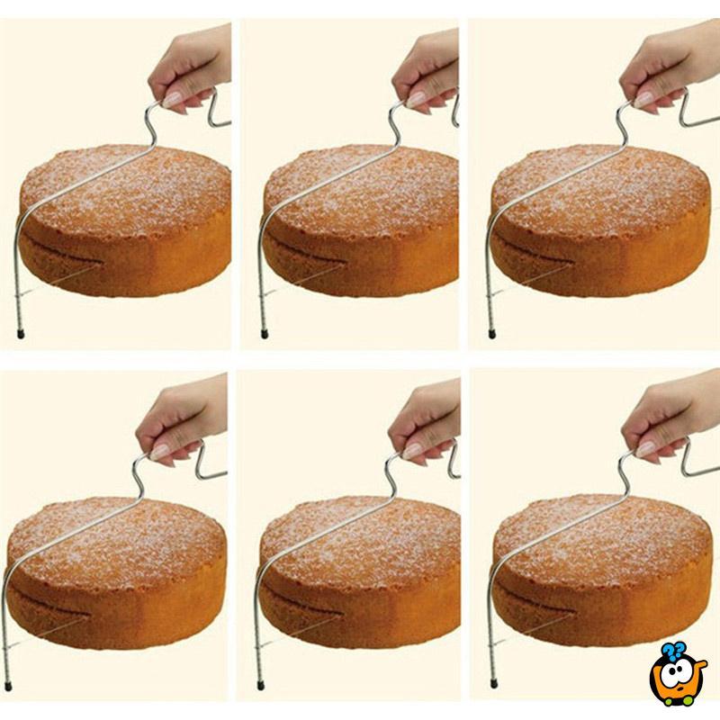Podesiva žica za sečenje torti i kolača