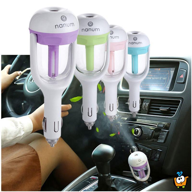 Car Humidifier - Miris i osveživač za Vaš automobil