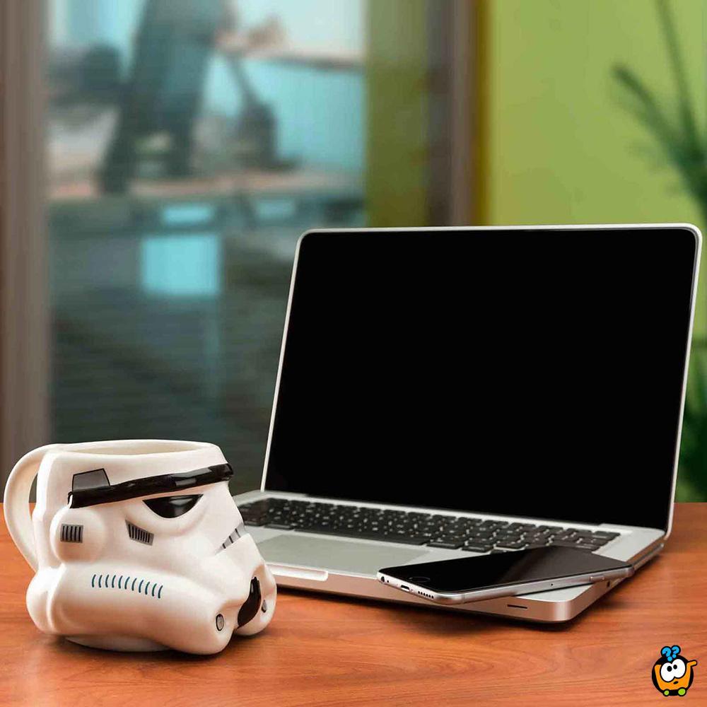 Star Wars STORMTROOPER 3D keramička šolja
