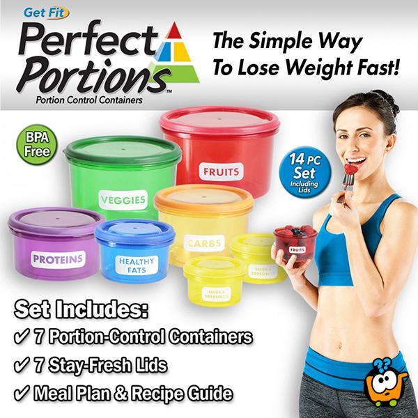Perfect Portion - Činije za savršene porcije i zdrav režim ishrane