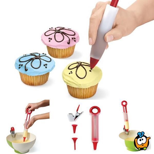Pastry Pen - Olovka za pravljenje, punjenje i dekoraciju kapkejkova