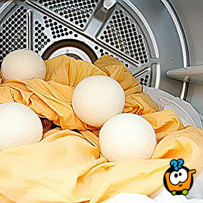 ECO-SMART DRYER SHEEP -  Vunene loptice za nežno sušenje veša