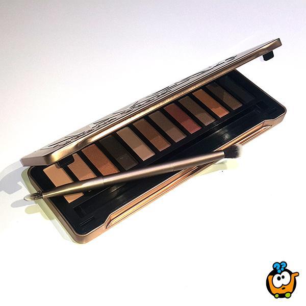 NAKED 4 - Profesionalna paleta od 12 nijansi senki