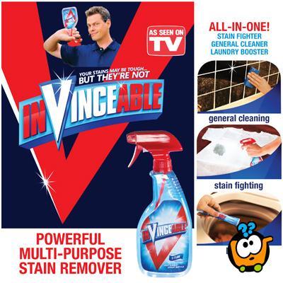 IN-VINCE-ABLE sprej - Moćno sredstvo za uklanjanje fleka i prljavštine