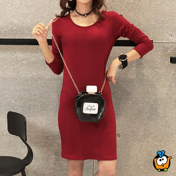COLOR haljina za sve prilike - BORDEAUX