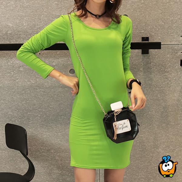 COLOR haljina za sve prilike - LEMON GREEN