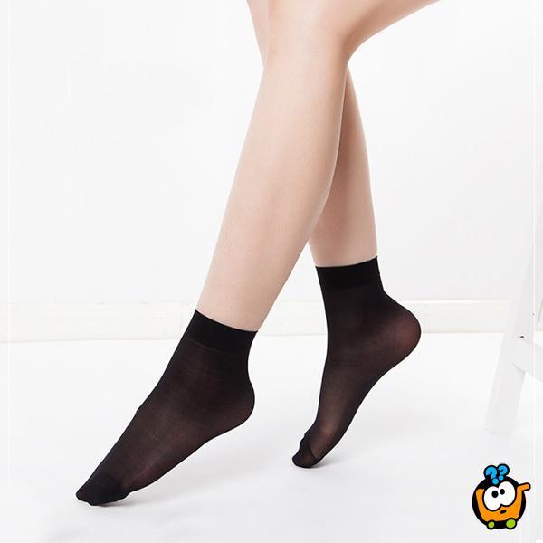 Ženske najlon sokne - Set od 10 pari letnjih Trend Soft čarapa za svaki dan