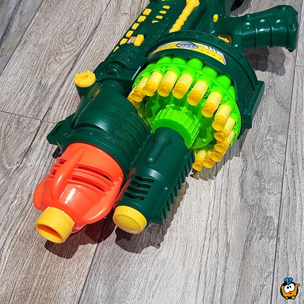 Fantastic Elite BIG GUN - Automatska puška sa mekanim raketama