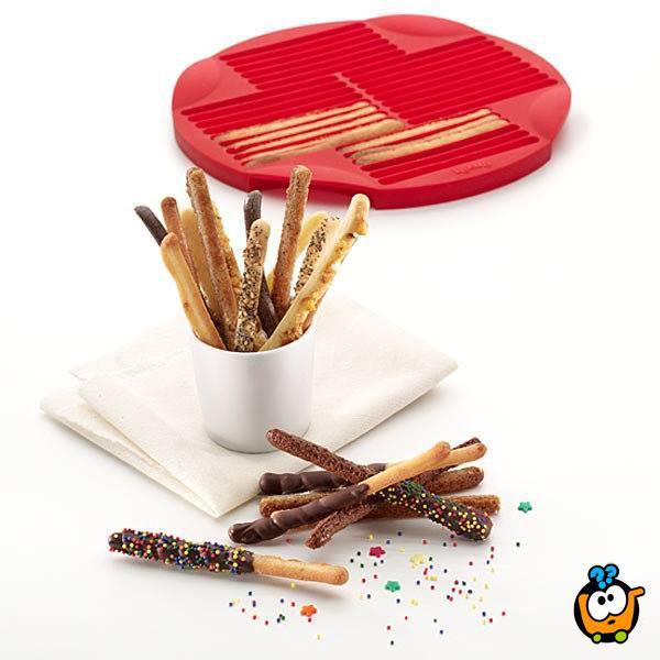 Breadstick Pan - Silikonska modla za pravljenje najukusnijih štapića