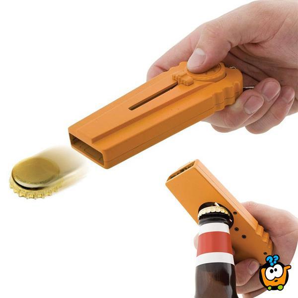 Cap Shooter opener  - Otvarač flaša koji lansira čepove