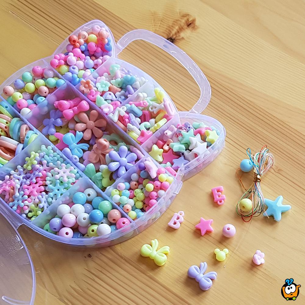 Beads set za pravljenje nakita - Kreativne perlice za devojčice