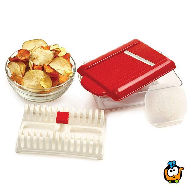 Microwave Potato Chip Maker - Mašina za zdrav domaći čips