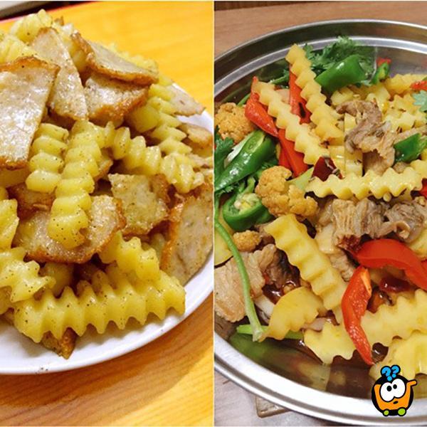 Potato Cutter - Savršeni rezač krompira, sireva i drugog povrća