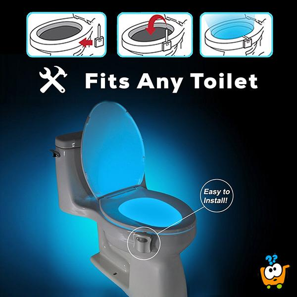 TOILIGHT - Lampa za WC šolju