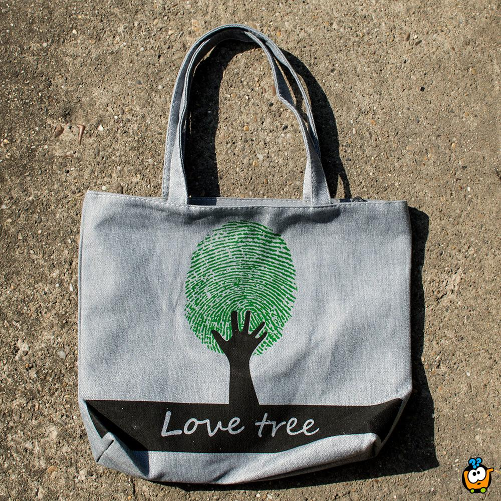 Ceger torba Retro - GREEN LOVE TREE