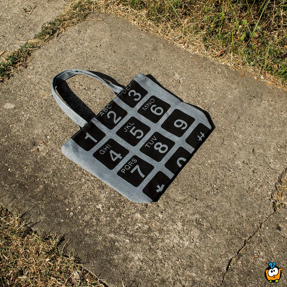 Ceger torba Retro - PHONE KEYBOARD