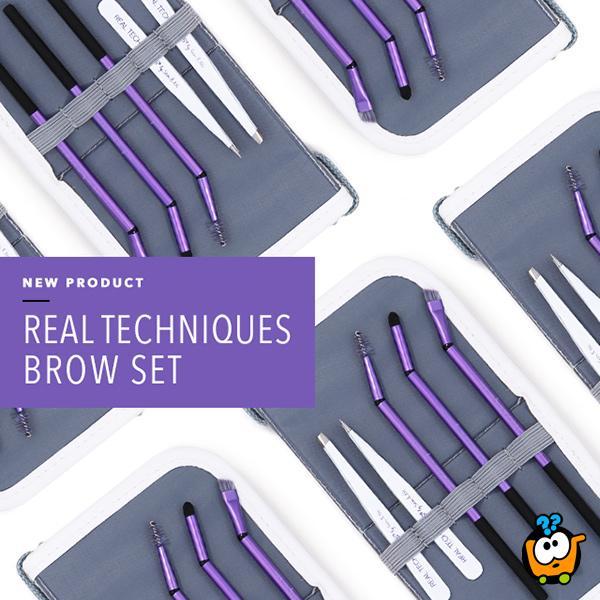 Real Techniques - Fantastican set za oblikovanje obrva