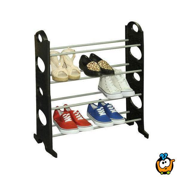 Stackable Shoe Rack - Cipelarnik za Vašu obuću na 4 nivoa