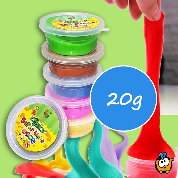 Kinetička glina - Super Light Clay dodatne boje za kombinovanje