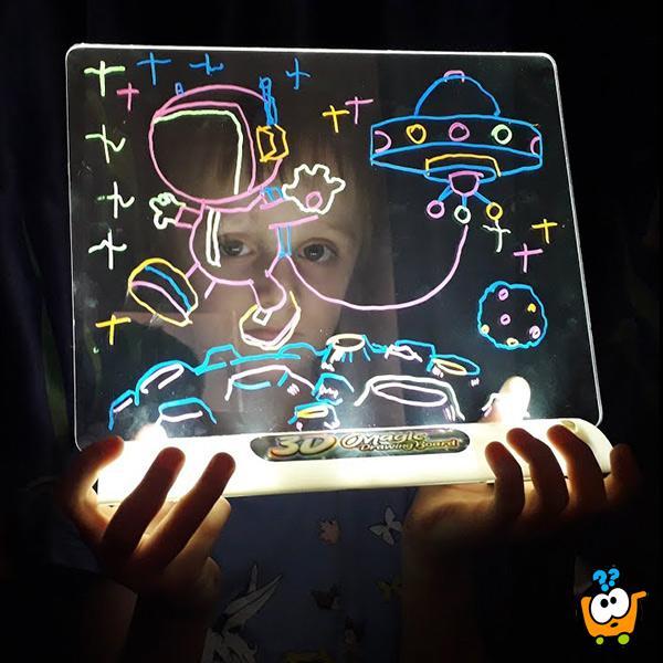 Magična 3D tabla za crtanje
