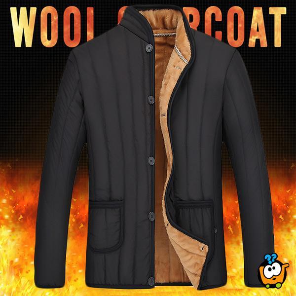 Muška jakna sa zimskom postavom