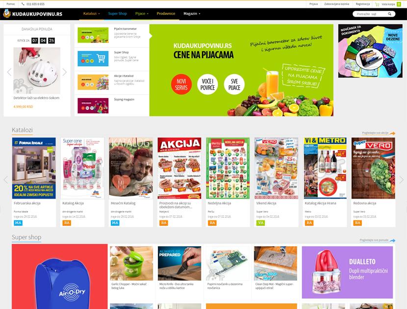 Kuda u kupovinu - Novi izgled sajta!