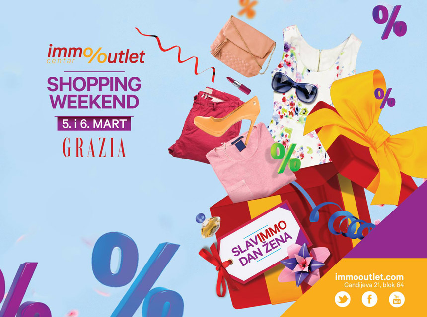 Immo outlet shopping weekend!