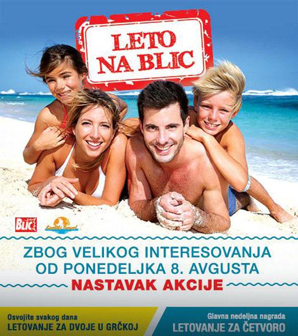 Nagradna igra : Leto na Blic