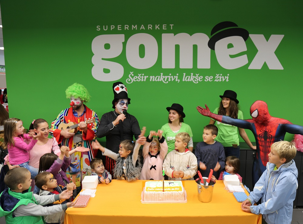 GOMEX: Obeležen prvi rođendan Supermarketa TOTAL u Šapcu