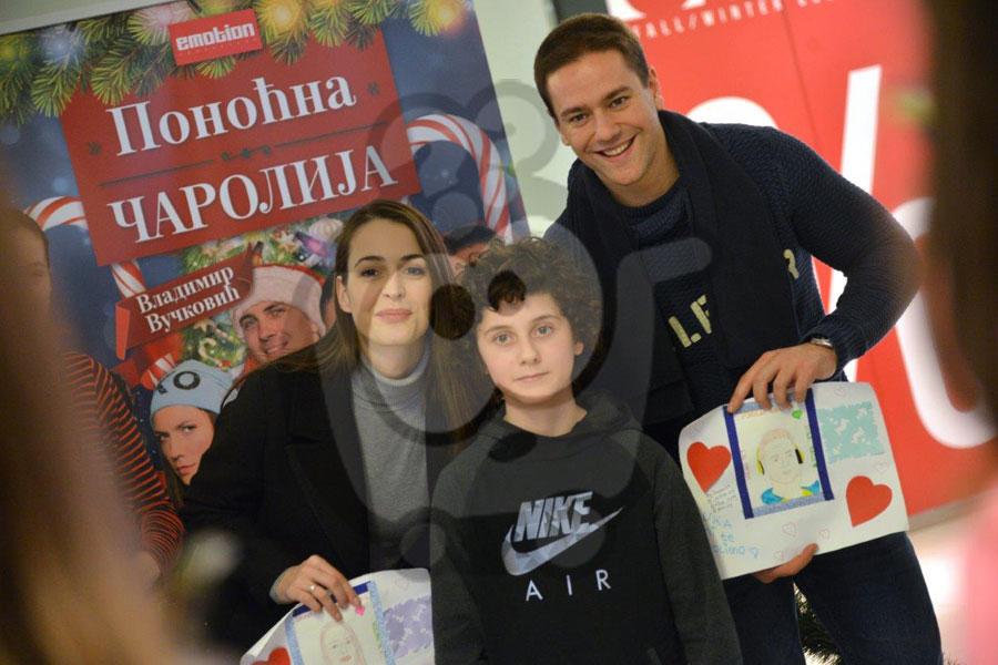 Forum - Brankica Sebastijanović i Luka Raco u druženju sa najmlađim Nišlijama