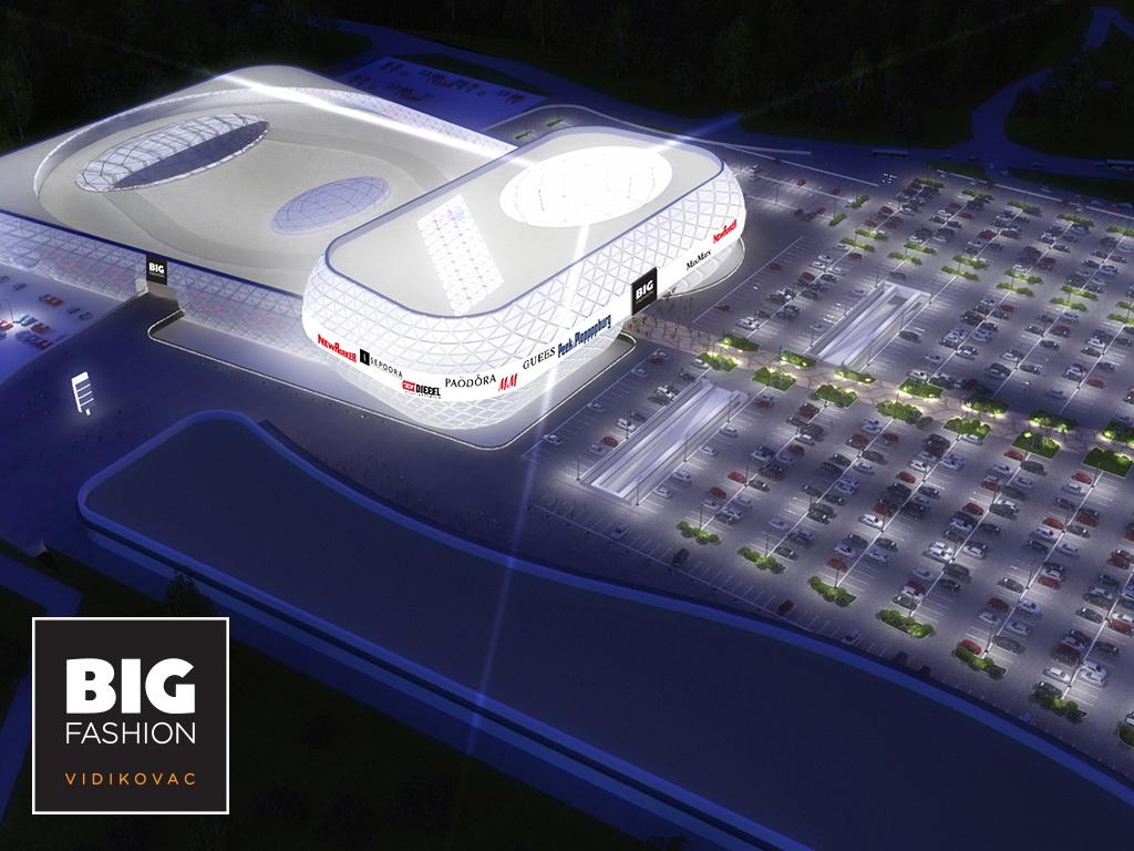 Najveći šoping centar na Balkanu - BIG FASHION Vidikovac