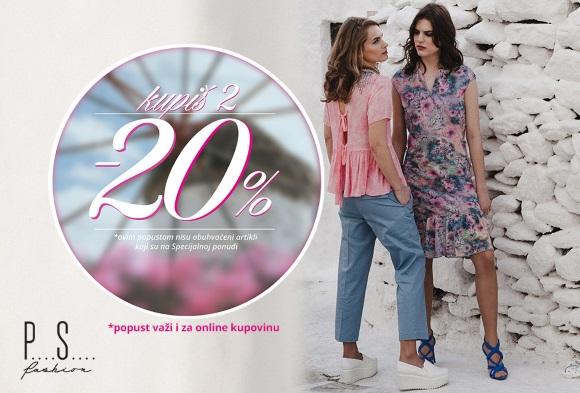 P....S....Fashion akcija - KUPIŠ 2 -20%
