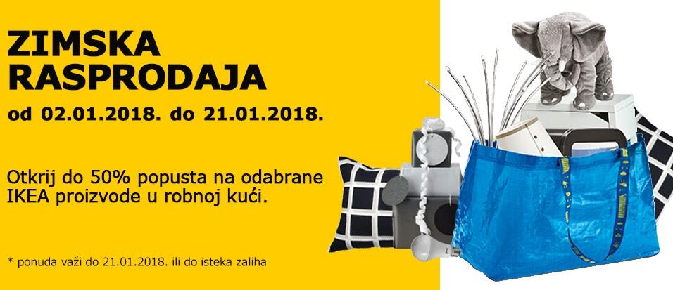 Rasprodaja u IKEA robnoj kući
