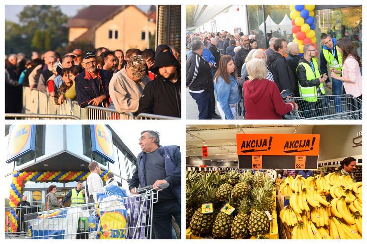 LIDL - 16 prodavnica, 11 gradova i ogroman broj posetilaca