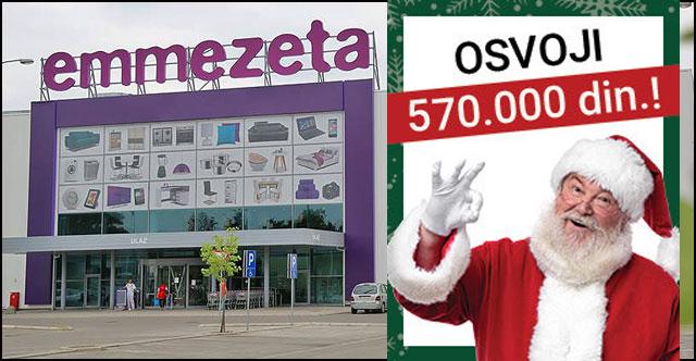 Emmezetina Novogodišnja čarolija: Igraj, osvoji nagrade i uštedi!