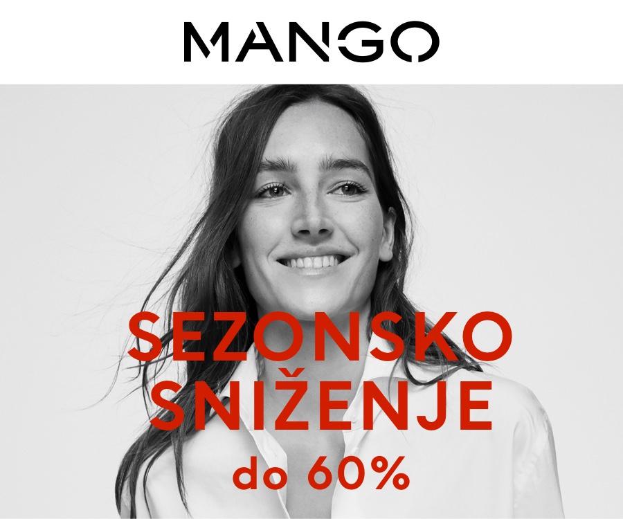 MANGO SEZONSKO SNIŽENJE DO 60%
