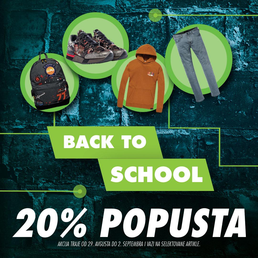 BACK TO SCHOOL - Pripremite se za novu školsku godinu