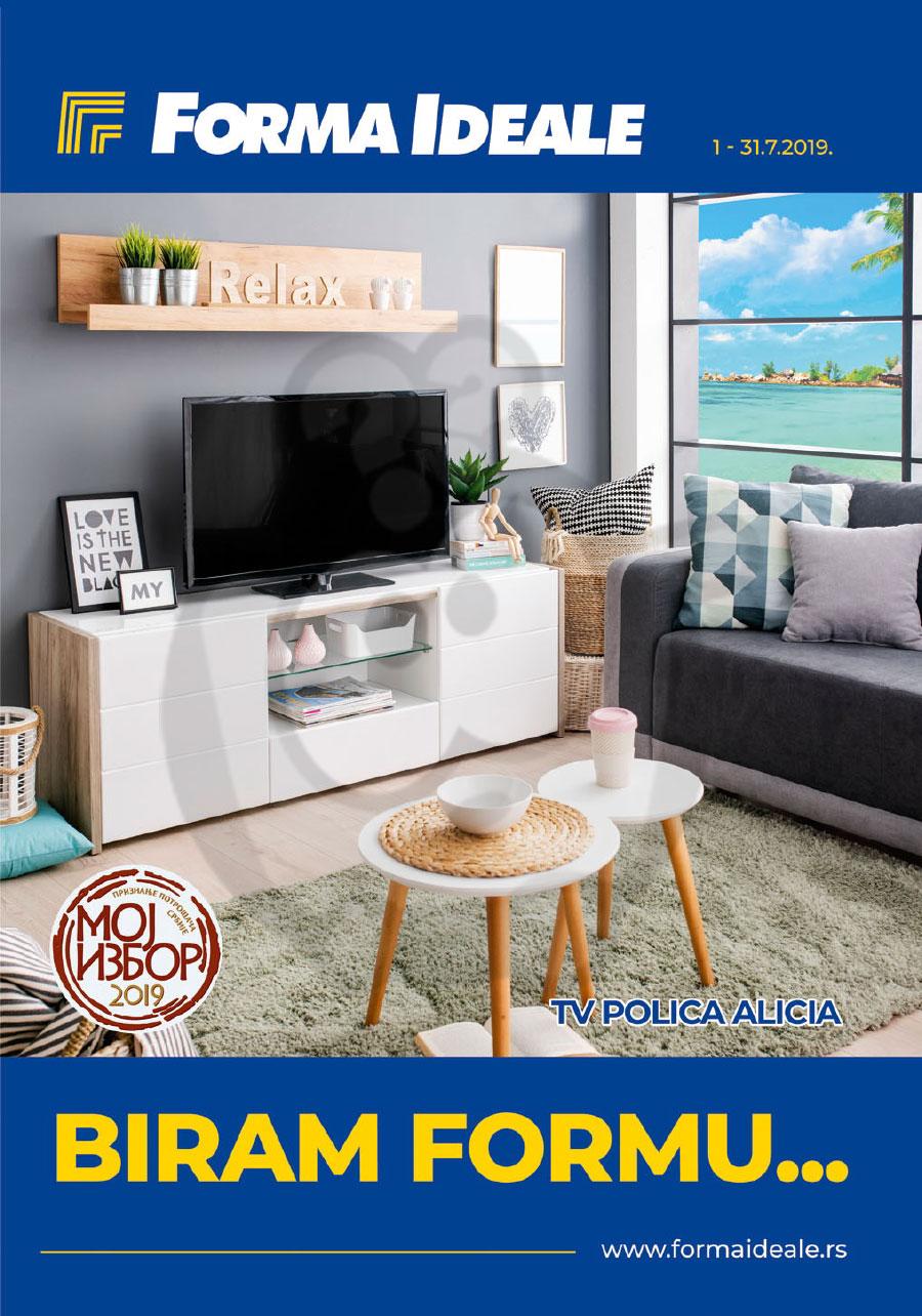 Forma Ideale Nameštaj Katalog Akcija Jul 2019 Kuda U Kupovinu
