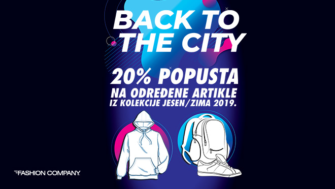 Fashion Company - BACK TO THE CITY