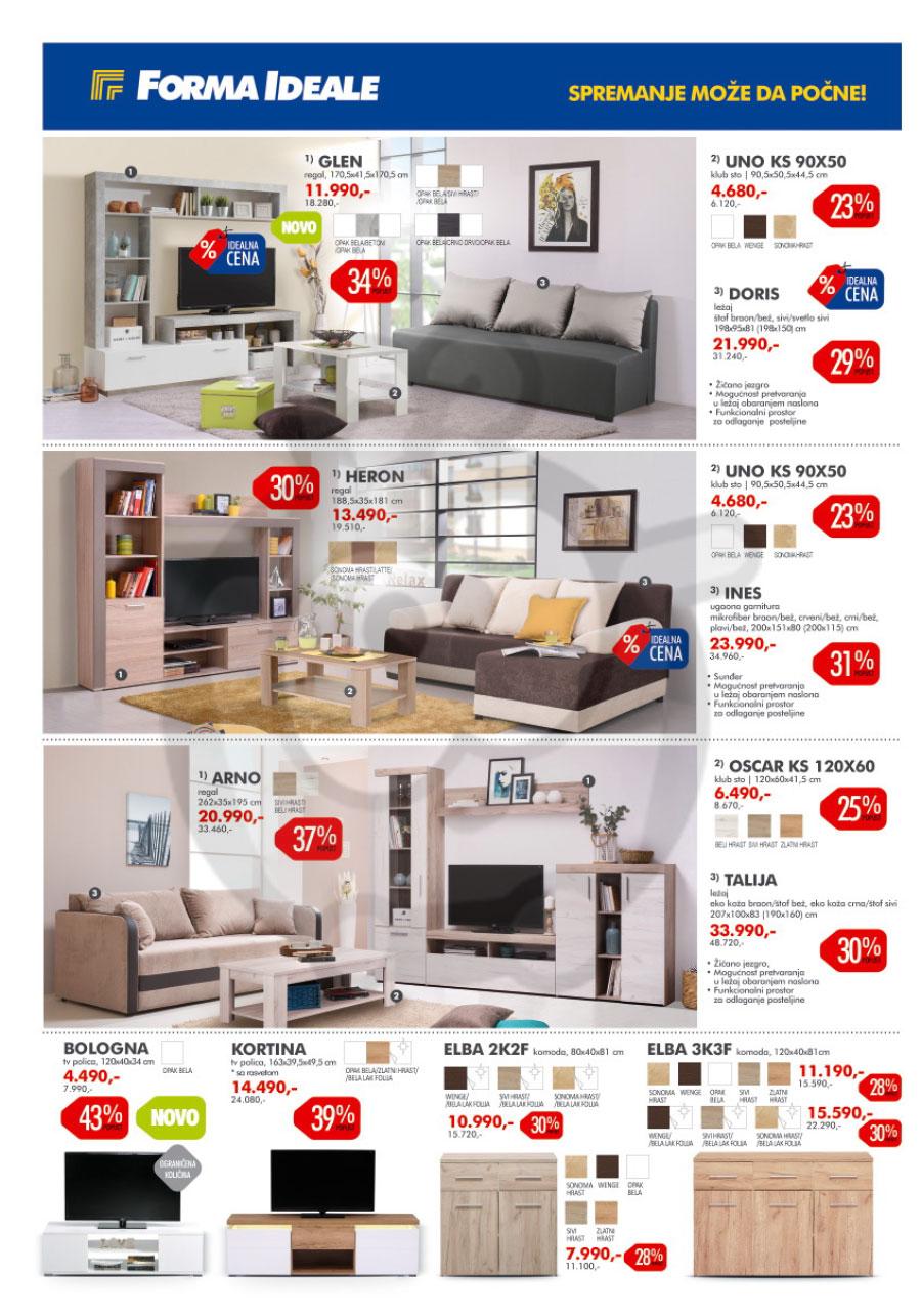 forma ideale name taj katalog akcija mart 2019 kuda u. Black Bedroom Furniture Sets. Home Design Ideas