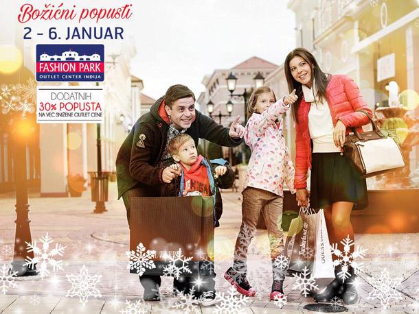 Fashion park outlet center Inđija