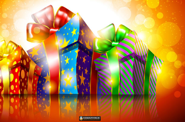 U susret novoj godini - novogodišnji paketići